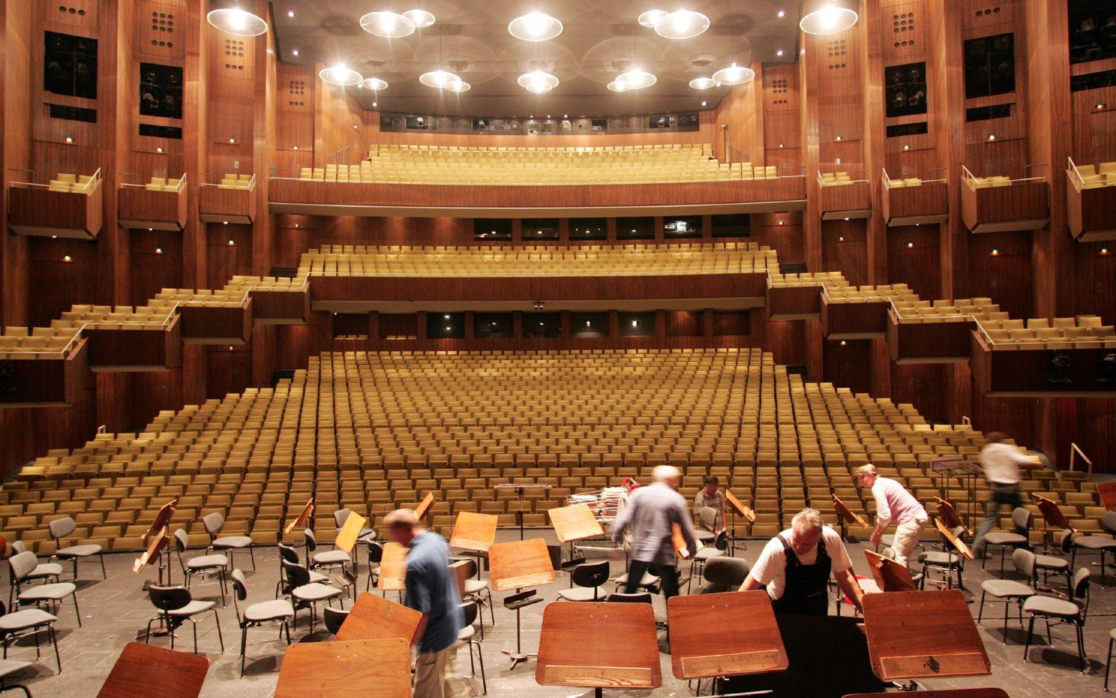 Renovierte und neu gestaltete Deutsche Oper in Berlin