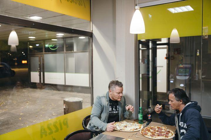 Finnische Pizza zum Abendessen