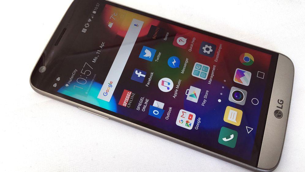 Smartphone mit Modulschacht: Das LG G5 im Test