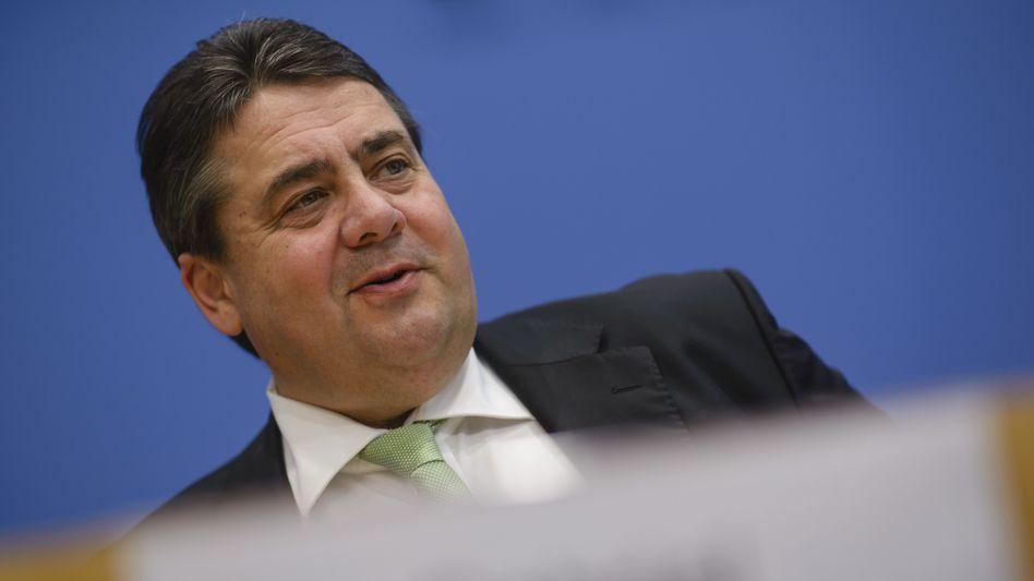 SPD-Chef Gabriel: Vertrauliches Treffen mit Linken-Vorsitzenden