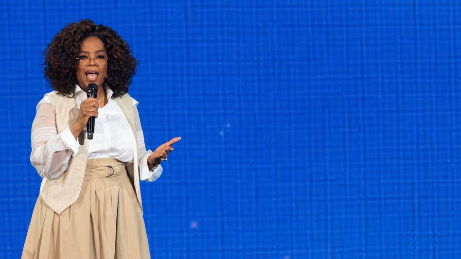 Oprah Winfrey sagt, manchmal hätten sie und ihre Mutter auch Hilfe gebraucht