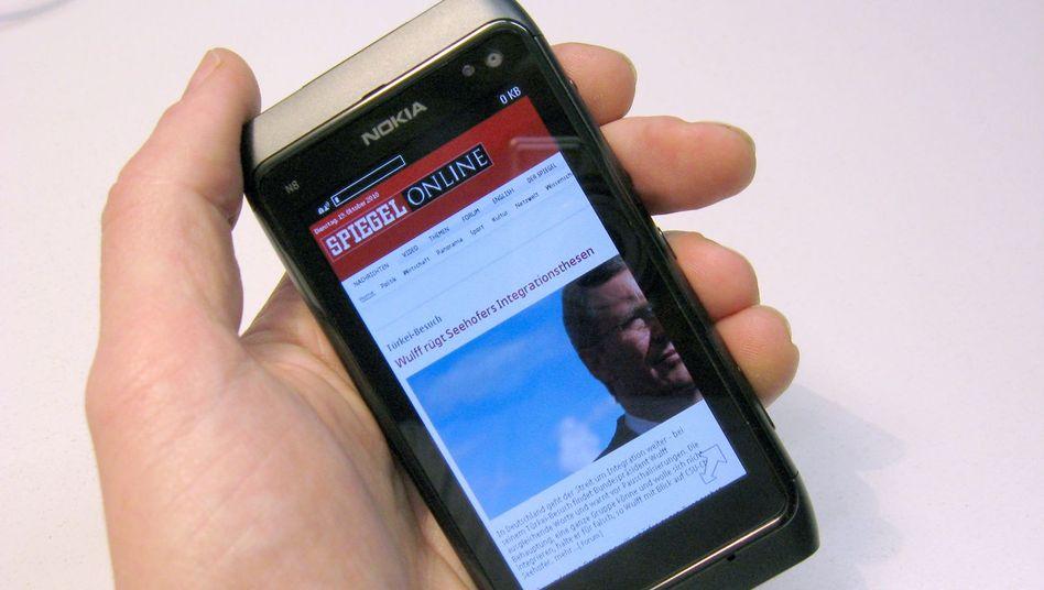 Nokia-Smartphone N8: Der Vorsprung des Marktführers schrumpf