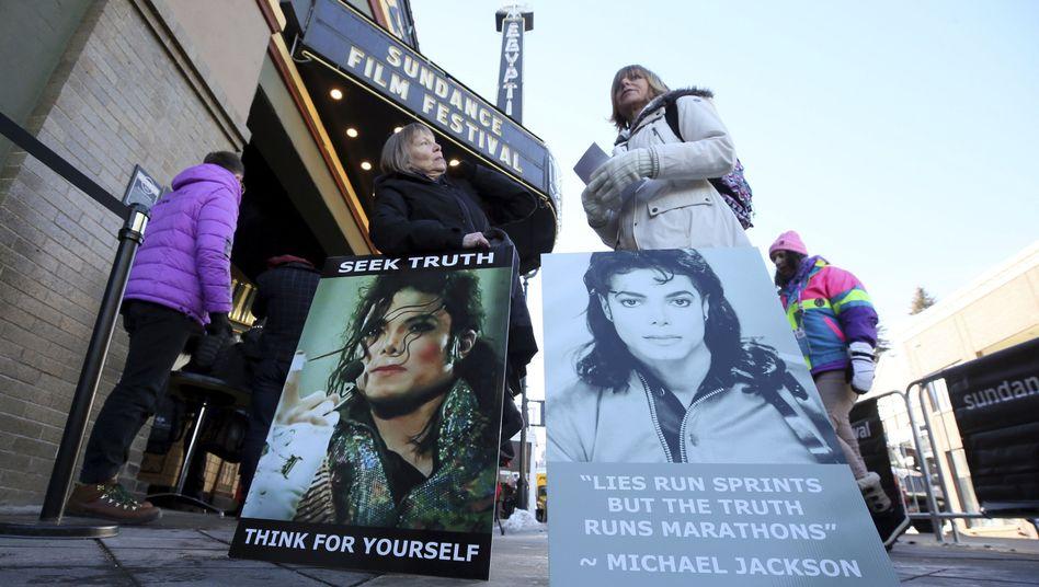 Jackson-Fans bei der Premiere der Doku im Rahmen des Sundance-Filmfestivals