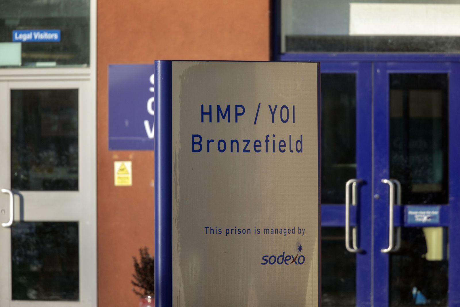 EINMALIGE VERWENDUNG HMP Bronzefield