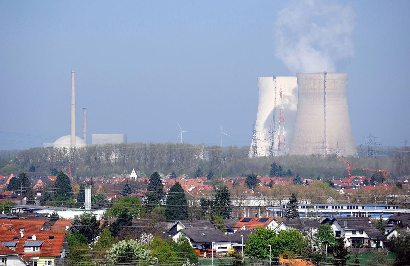 NICHT VERWENDEN Atomkraftwerk Philippsburg