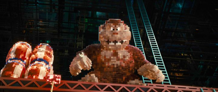 """""""Donkey Kong"""" lässt grüßen: Der Film ist voll mit Videospiel-Anspielungen"""
