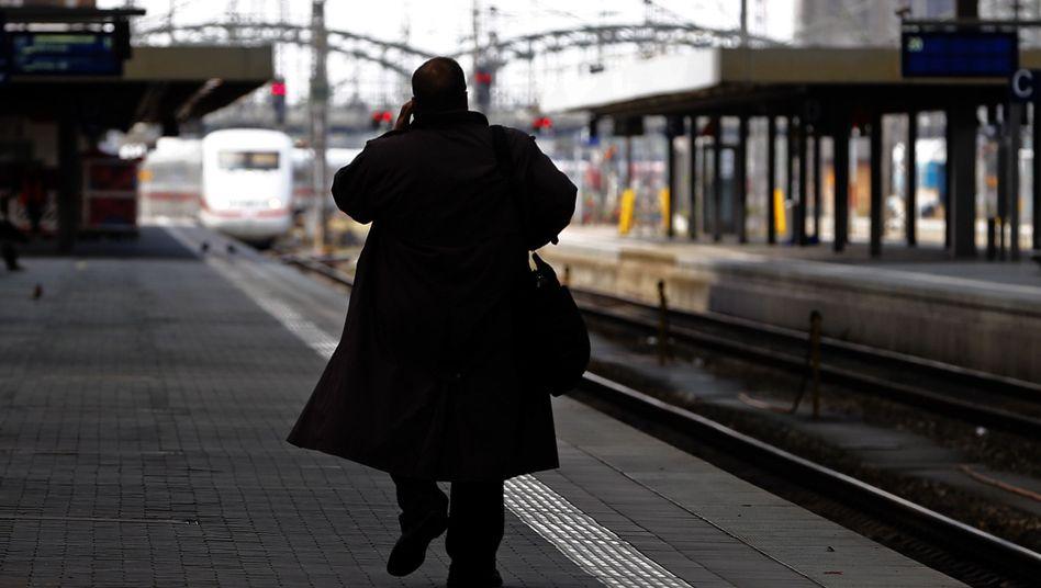 """Der bestreikte Münchner Bahnhof (Archivbild): """"Diesmal richtig lange"""""""