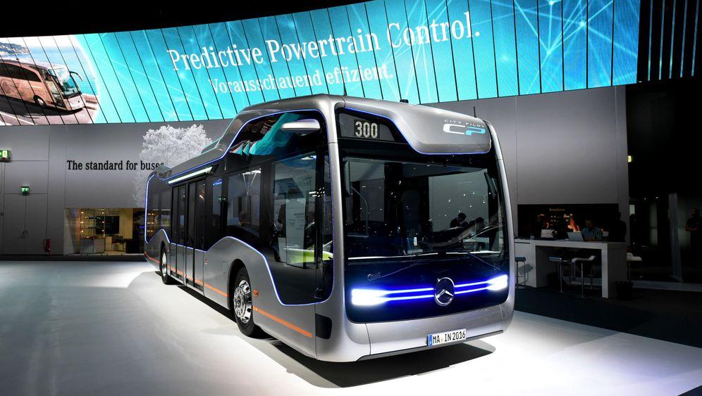 IAA Nutzfahrzeuge: Innovationen für die Brummis
