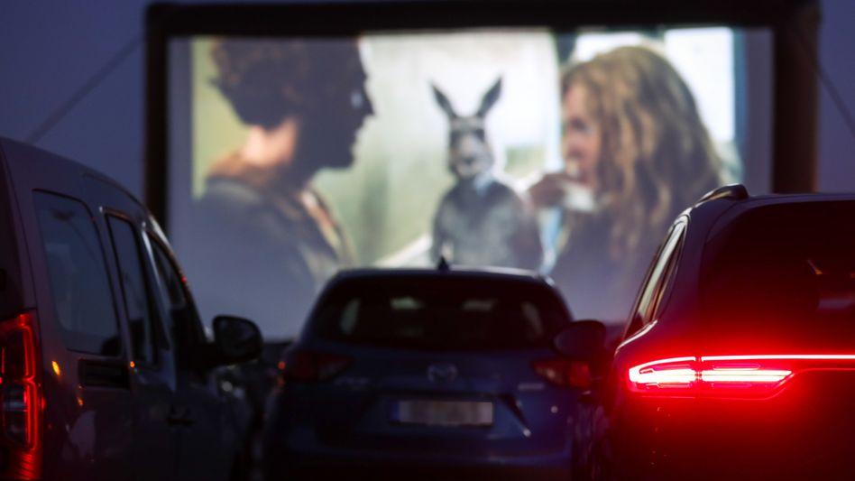"""""""Die Känguru-Chroniken"""" in einem Autokino in Chemnitz: Der Quastenflosser unter den Unterhaltungsangeboten"""