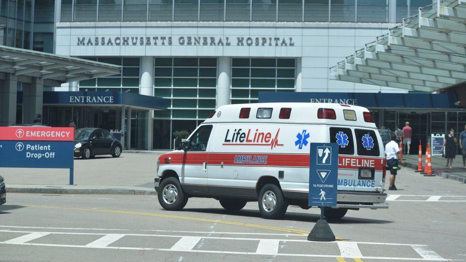 Krankenhaus in Boston