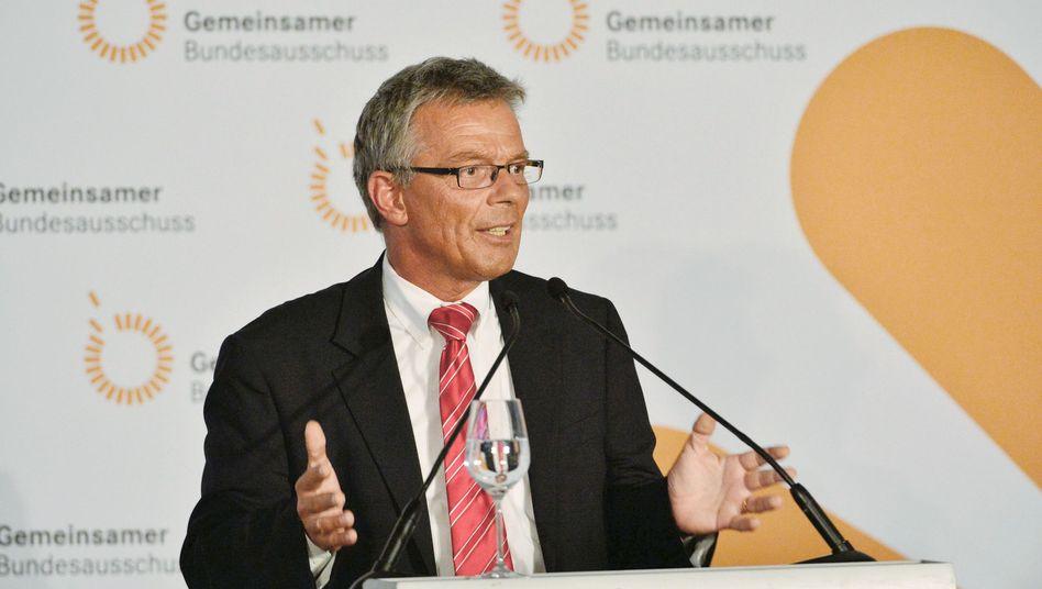 GBA-Chef Josef Hecken: Plötzlich unparteiisch