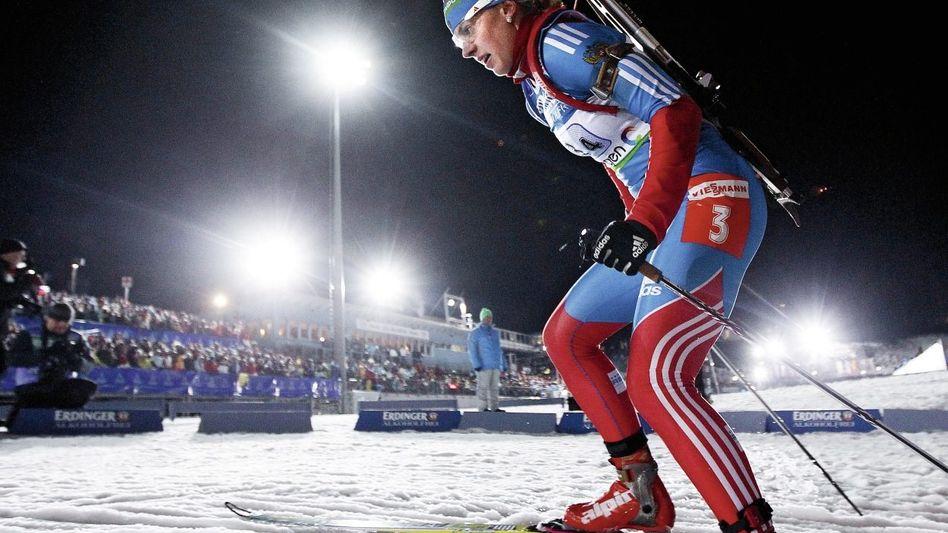 Weltcup-Starterin Olga Wiluchina: »In Russland ist das ein bisserl anders«