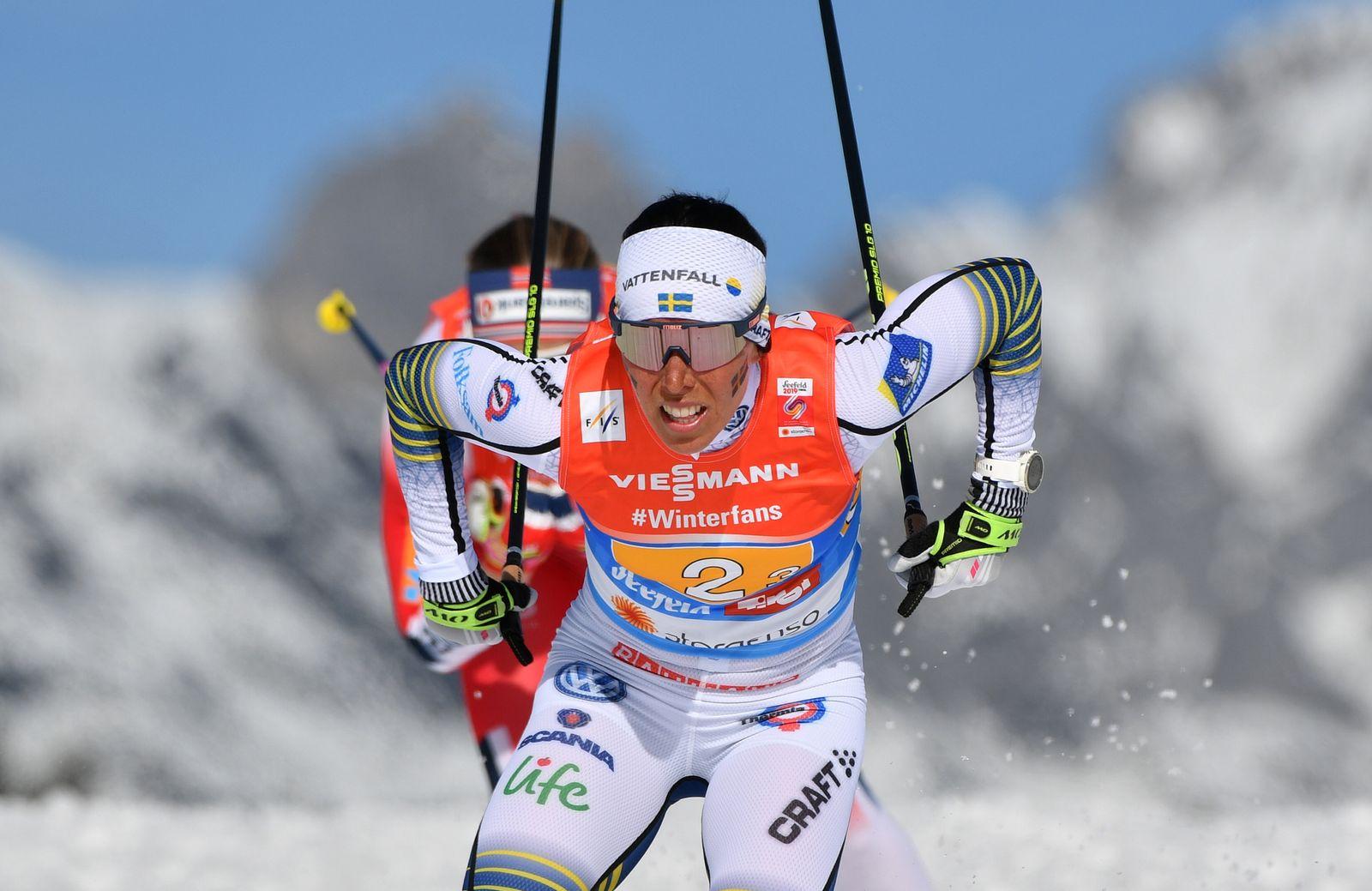 Nordische Ski-WM Seefeld - Charlotte Kalla