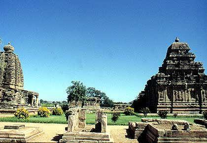 Virupaksha-Tempel in Pattadakal