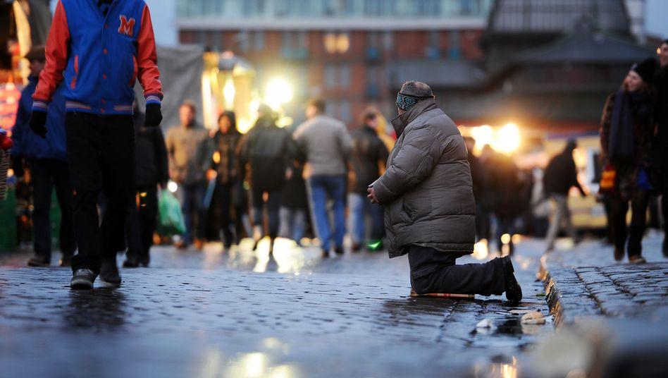 Armut in Hamburg: Experten streiten, wie groß Deutschlands soziale Probleme sind