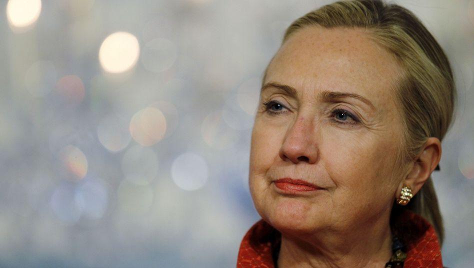 Ex-US-Außenministerin Clinton in Washington (Archivbild, 2011): Die Politikerin wurde offenbar vom BND abgehört