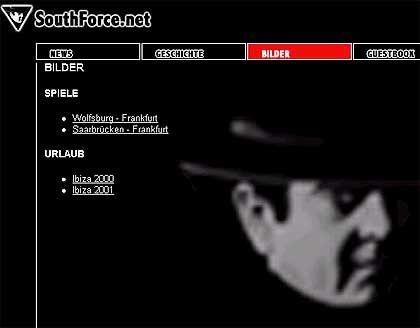 """South Force""-Webseite: Alles nur bunte Choreografie?"