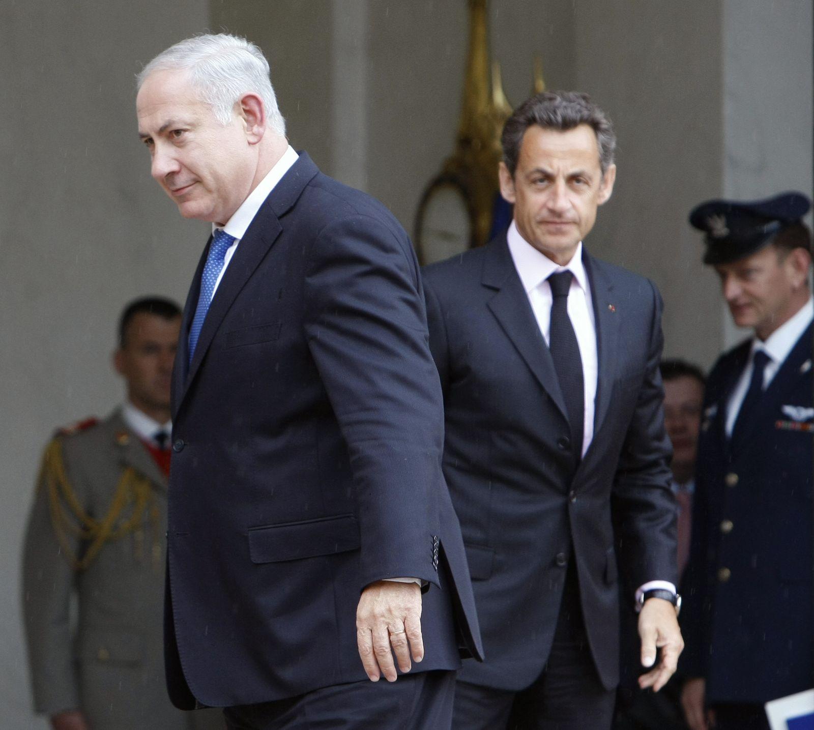 Netanjahu / Sarkozy