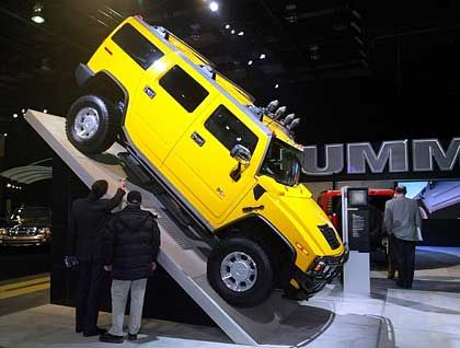 Hummer-SUV von General Motors: Über 20 Liter auf 100 Kilometern