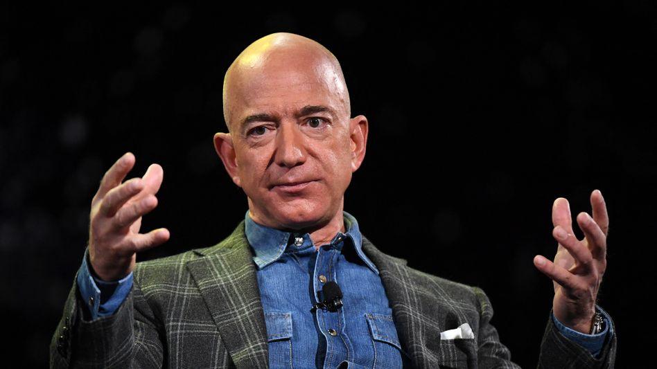 Jeff Bezos: Will den Vorstandsvorsitz bei Amazon im dritten Quartal abgeben