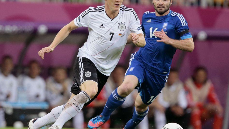 Nationalspieler Schweinsteiger: Einsatz gegen Italien nicht in Gefahr