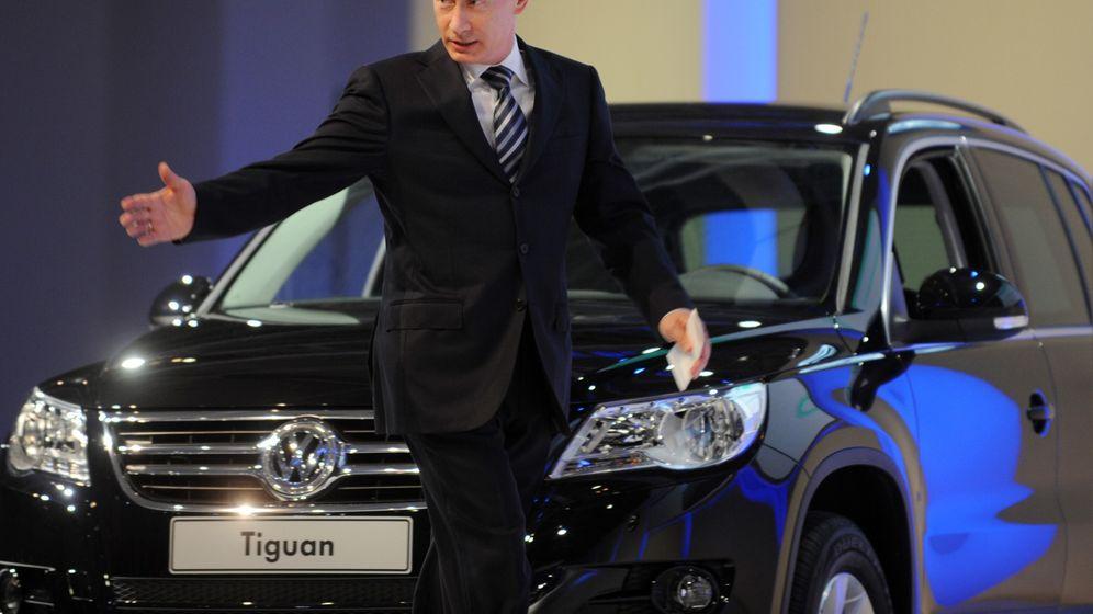 Volkswagen in Russland: Putins raffinierte Industriepolitik
