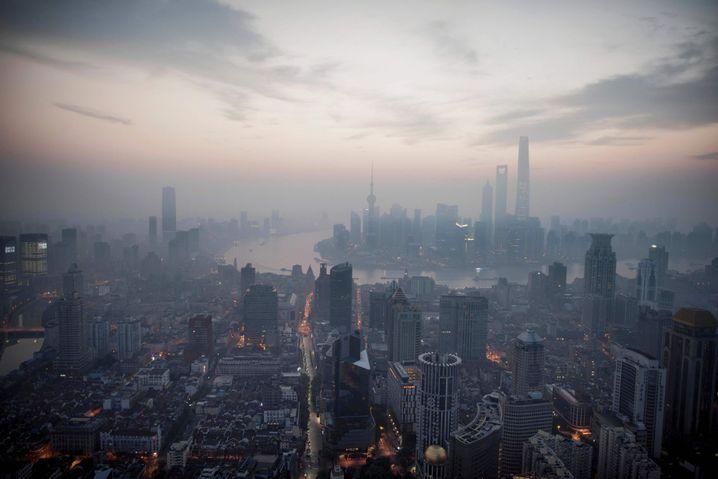 Skyline von Shanghai: Der aufstieg ist ein Langzeitprojekt