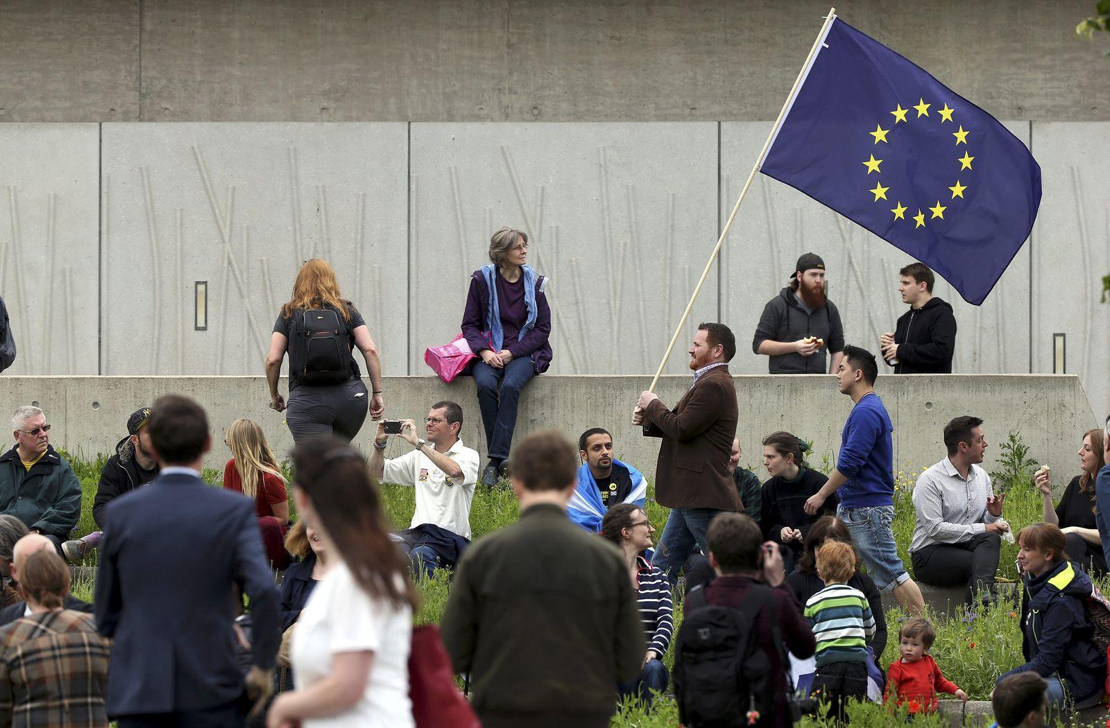 schottland fahne EU