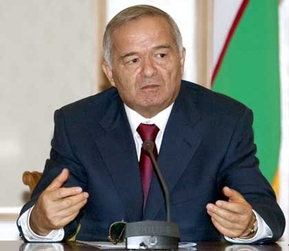 President Islam Karimov of Uzbekistan.