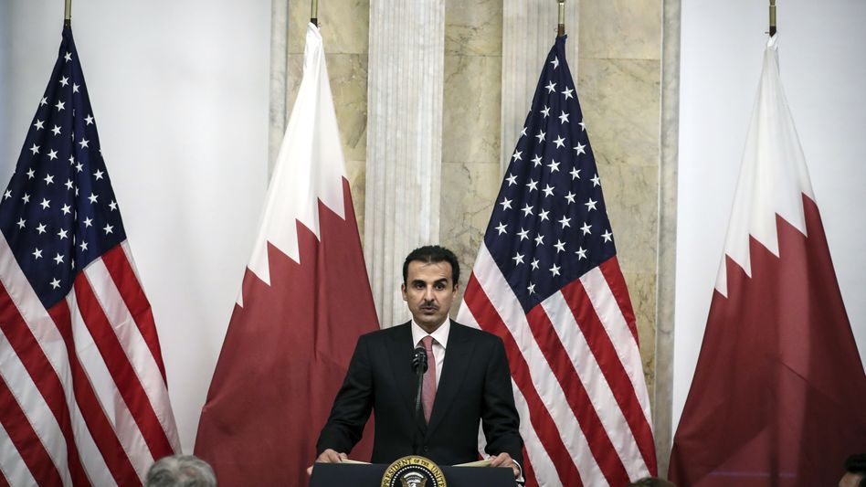 """Katars Emir: """"Tamim, du bist seit langer Zeit mein Freund"""""""