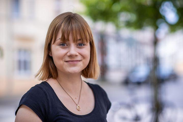 Die SPD-Nachwuchspolitikerin Lilly Blaudszun