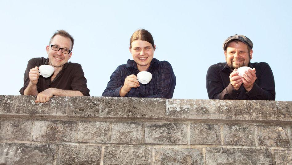 Mitarbeiter der Berliner Kaffeerösterei Flying Roasters: Arbeiten ohne Chef kann zufriedener machen