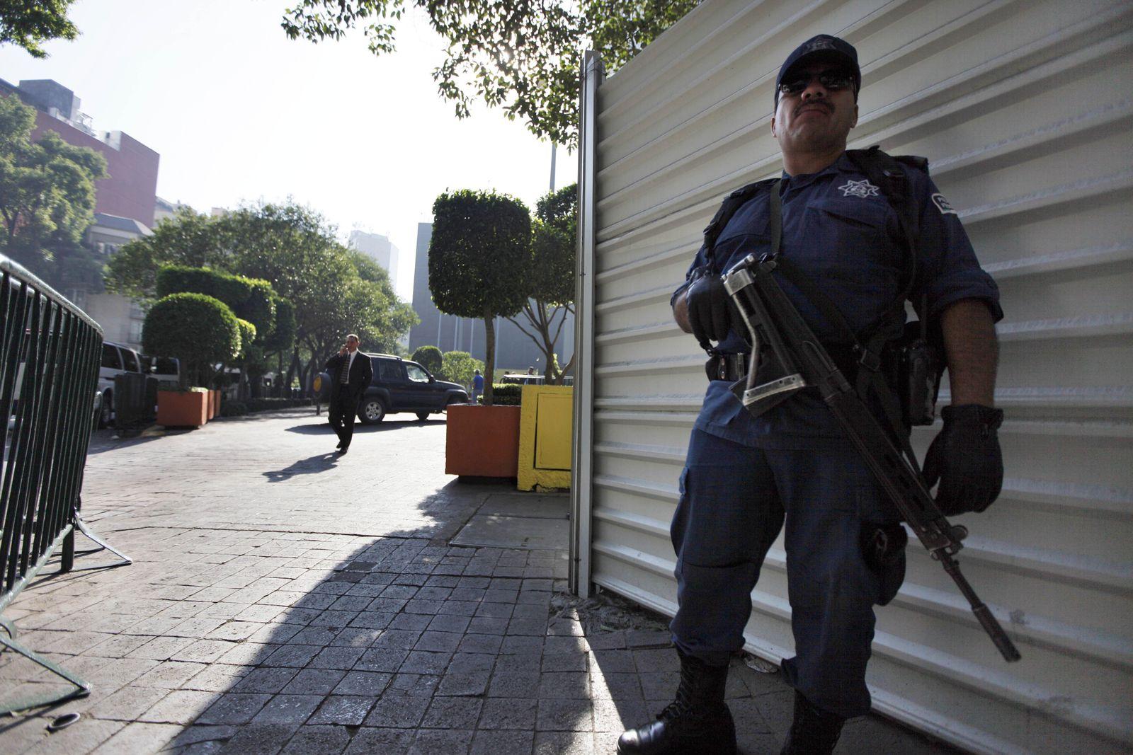Polizist / Mexiko