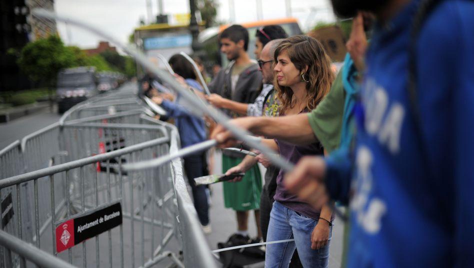 Proteste in Spanien: Die Verzweiflung wächst