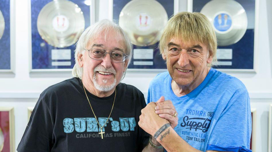 Erneut an der Chartspitze: Karl-Heinz Ulrich und sein Bruder Bernd sind die Amigos