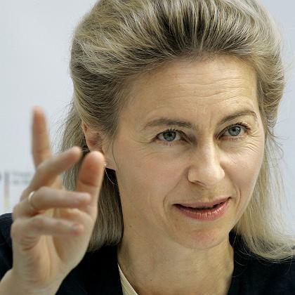 Bundesfamilienministerin Ursula von der Leyen