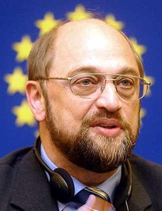 SPD-Politiker Schulz: Harte Worte gegen Martin