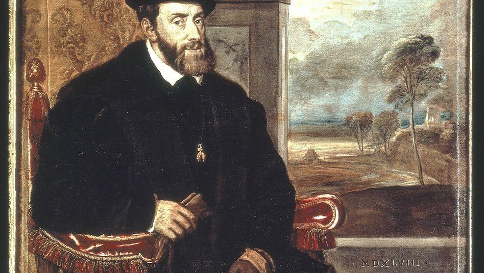 Tizians Porträt des alten Kaisers (1548) zeigt einen Zweifler mit letzter Energie