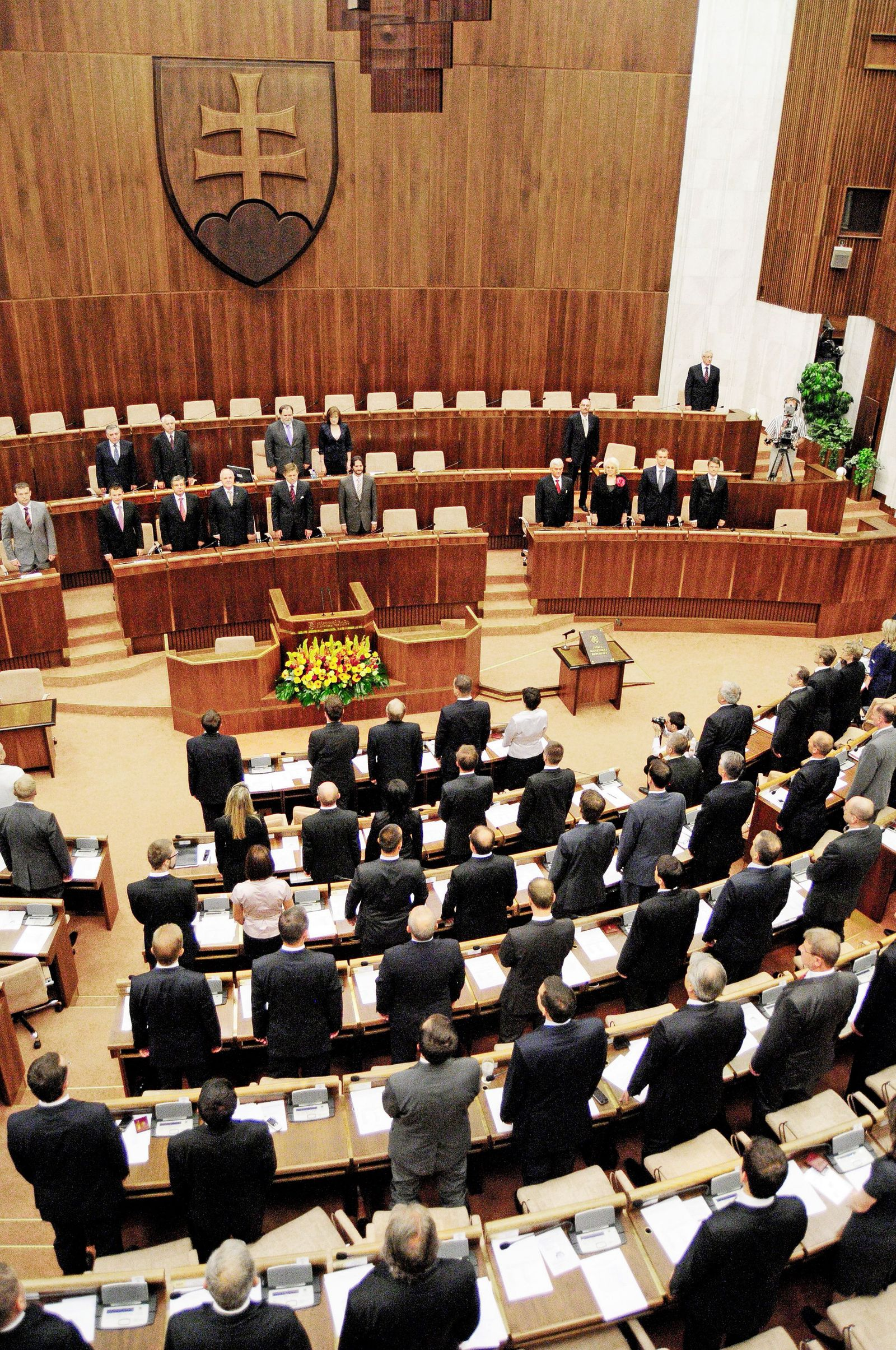 Slowakei/ Parlament
