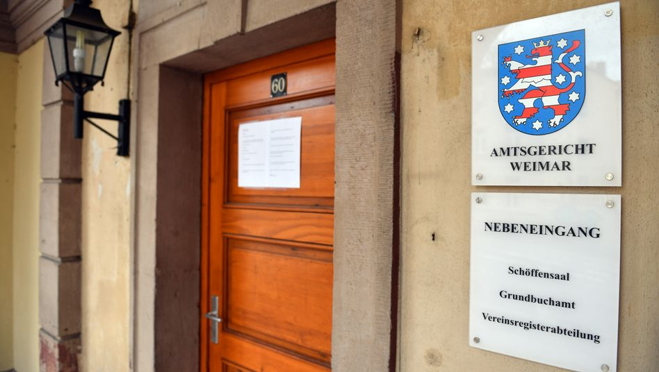 Amtsgericht Weimar (Archivbild)