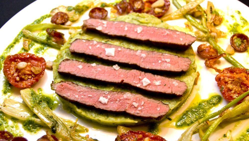 Tageskarte Küche: Ochsen-Beefsteak alla fiorentina