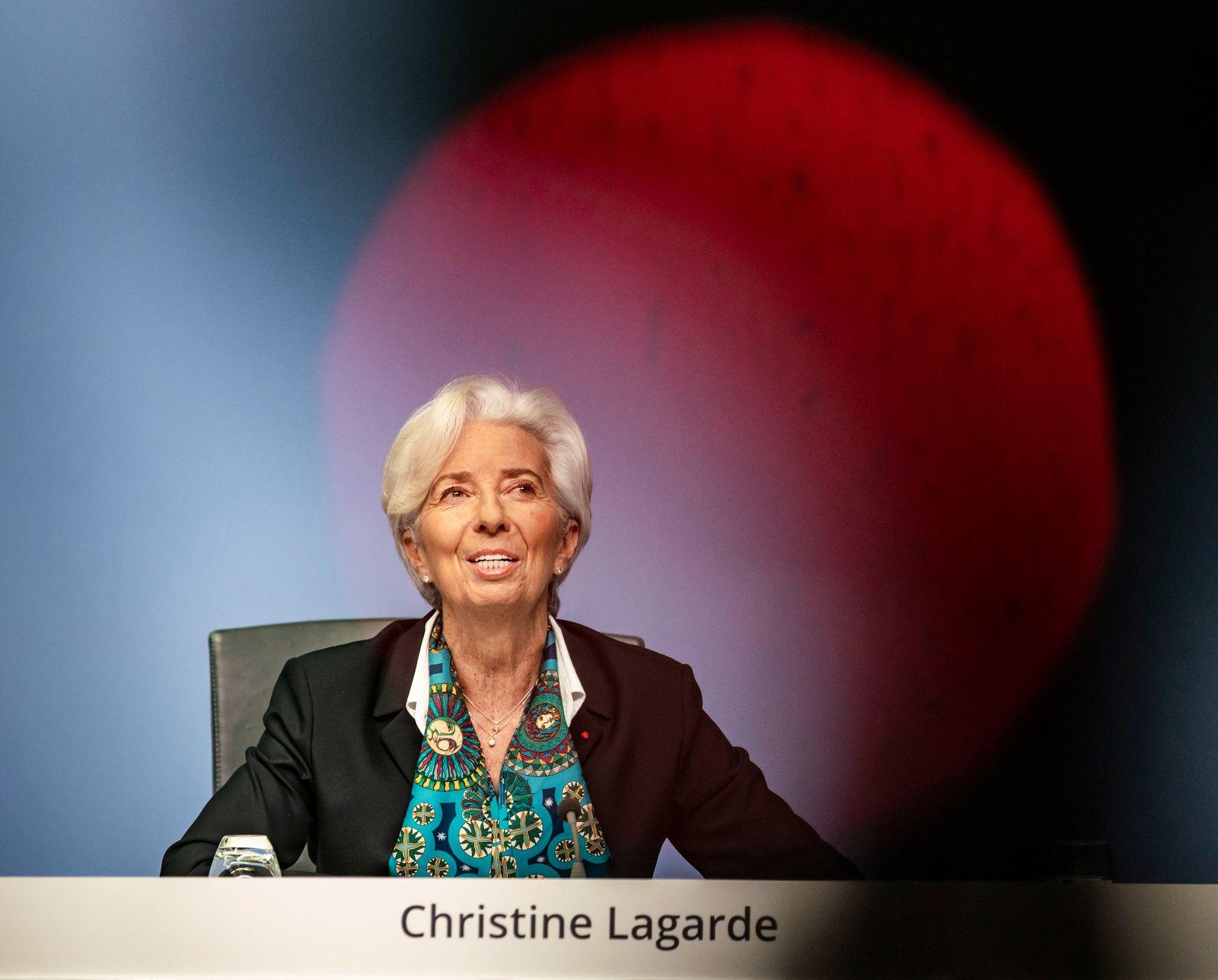 Pressekonferenz nach EZB-Ratssitzung