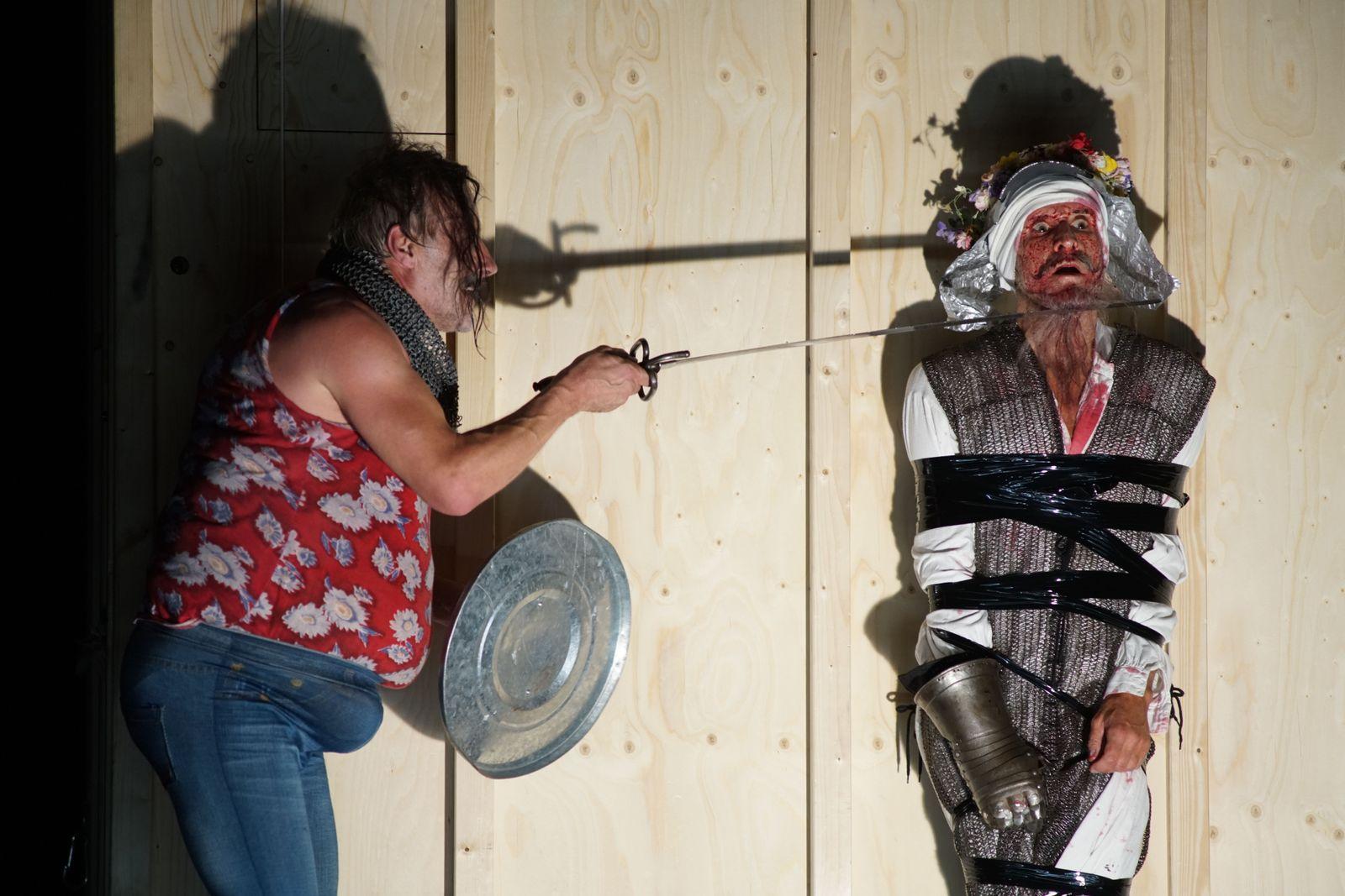 EINMALIGE VERWENDUNG Bregenzer Festspiele/ Don Quijote