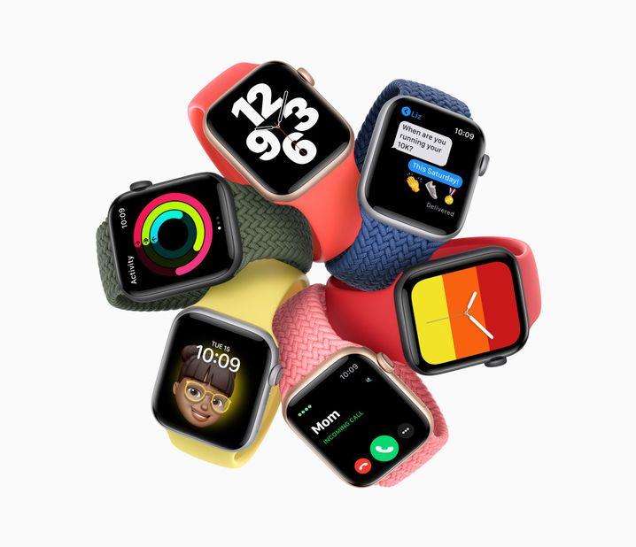 Die neue Apple Watch SE: Viele Gemeinsamkeiten mit dem Topmodell