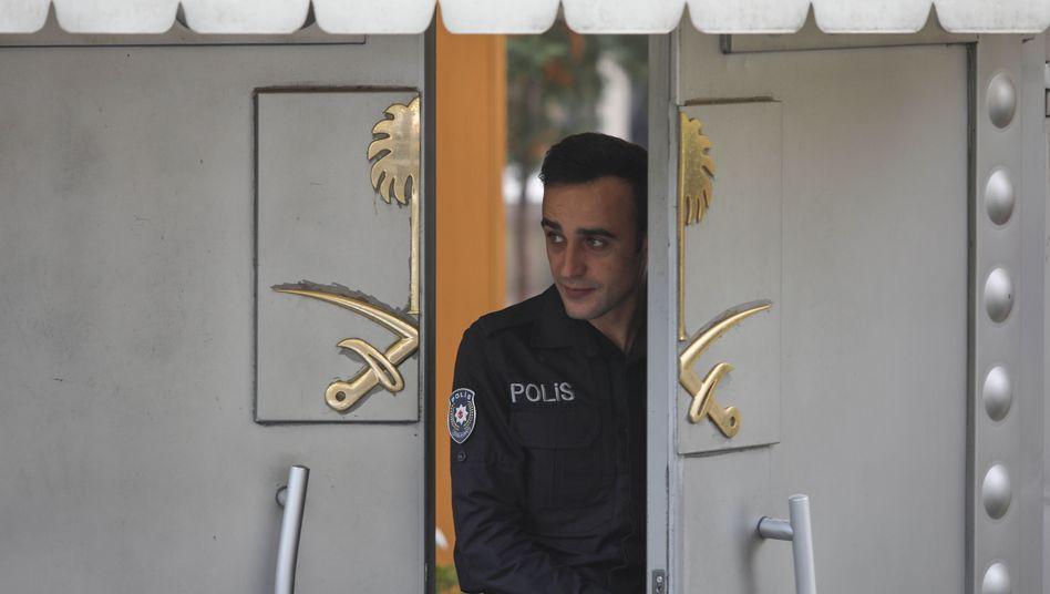 Saudi-Arabiens Konsulat in Istanbul