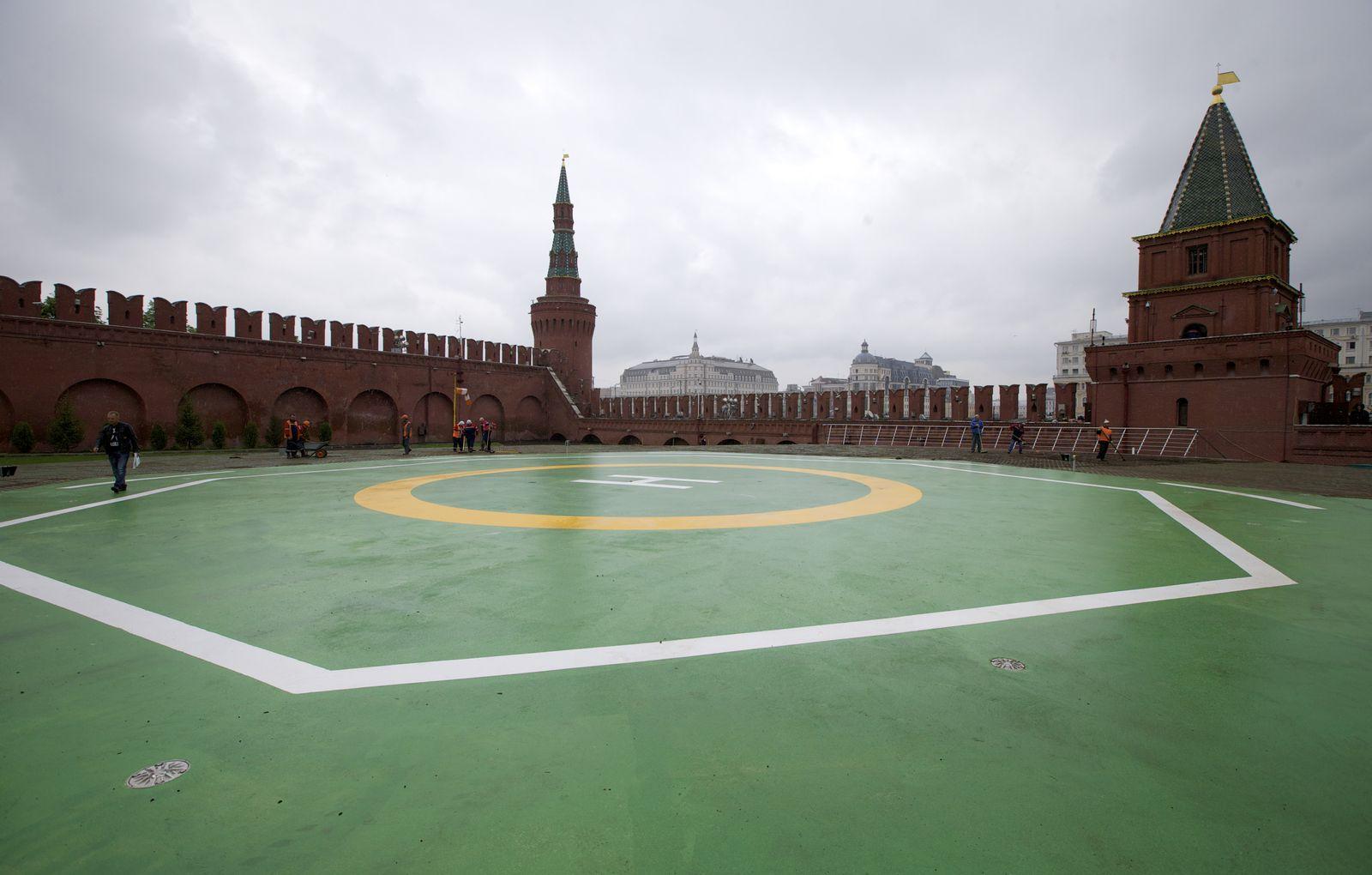 Kreml / Helipad