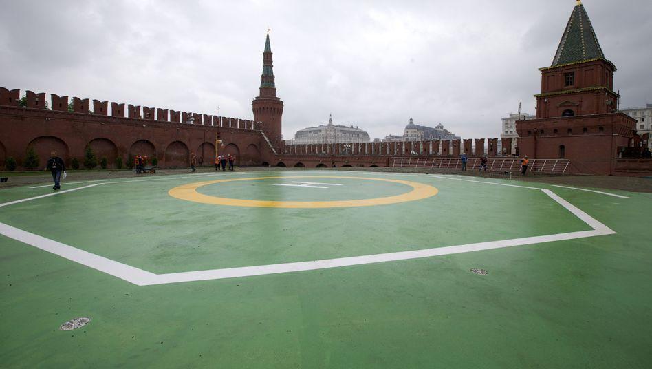 Kreml in Moskau: Eigene Suchmaschine für Putins Regierung?