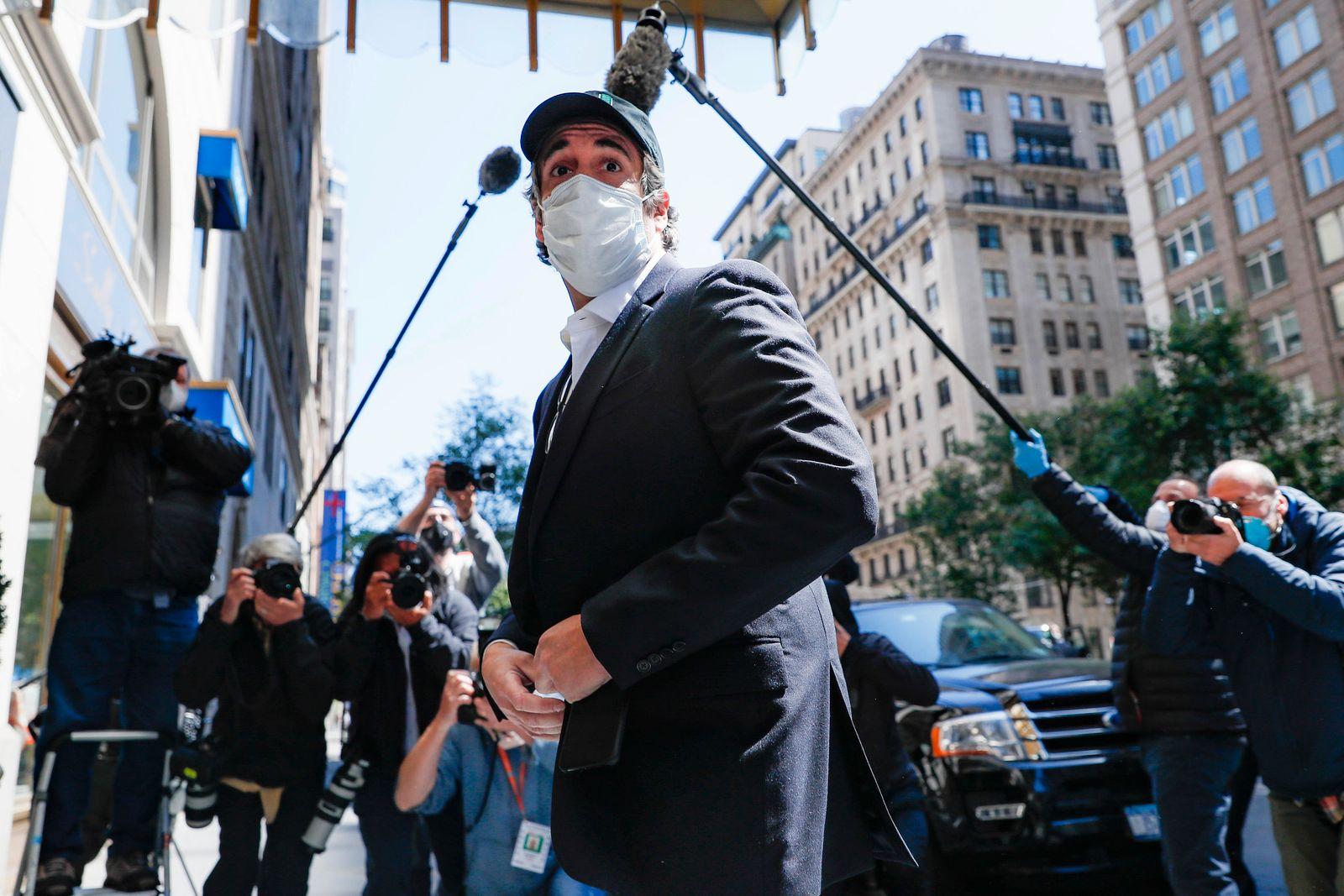 Trump's Ex-Anwalt Cohen aus Gefängnis entlassen