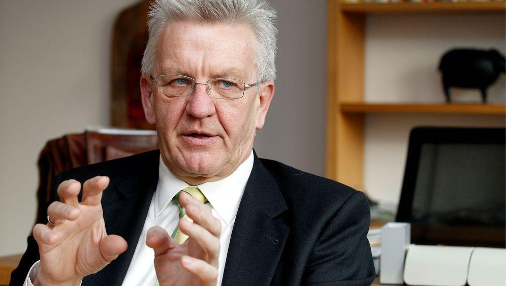 Winfried Kretschmann: Schwabe im Stresstest
