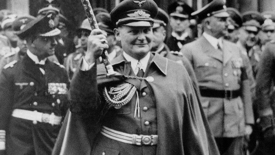 """Für die Uni Göttingen einst ehrwürdig: NS-Luftfahrtminister und """"Reichsforstmeister"""" Hermann Göring"""